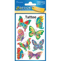 AVERY Zweckform ZDesign KIDS Tattoos Schmetterling
