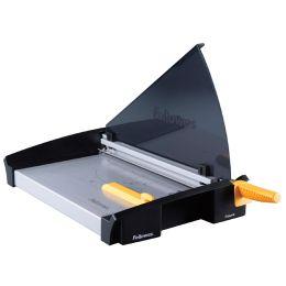 Fellowes Hebel-Schneidemaschine Plasma, DIN A4, schwarz/gelb