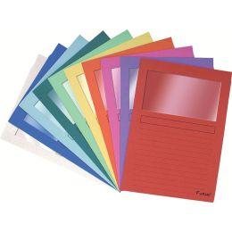 EXACOMPTA Sichtmappe FOREVER, DIN A4, 120 g/qm, violett