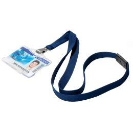 DURABLE Textilband SOFT COLOURS, blau