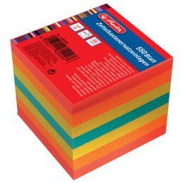 herlitz Zettelboxeinlagen, 90 x 90 mm, farbig