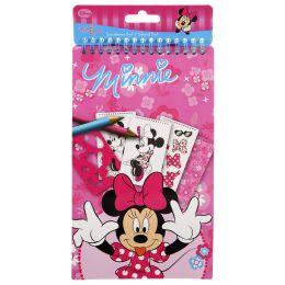 UNDERCOVER Schablonen-Set Minnie Mouse, 34-teilig, klein