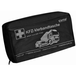KALFF KFZ-Verbandtasche Kompakt, Inhalt DIN 13164, schwarz