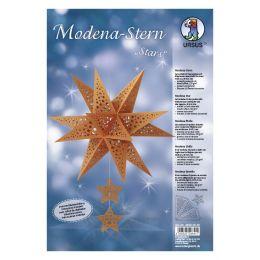 URSUS Bastelset Modena-Stern Stars, kupfer