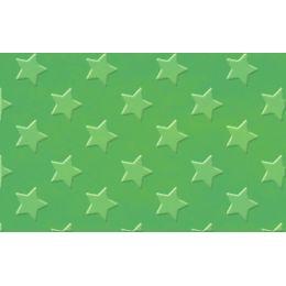URSUS Alu-Bastelfolie Sternchen, dunkelgrün
