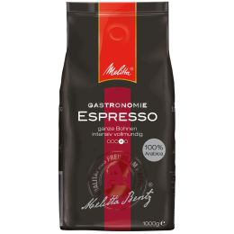 Melitta Kaffee Gastronomie Espresso, ganze Bohne