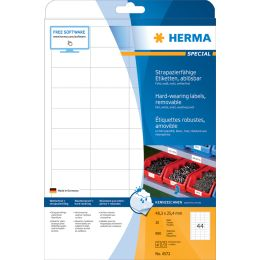 HERMA Folien-Etiketten SPECIAL, 99,1 x 67 mm, ablösbar