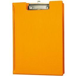 MAUL Klemmbrett-Mappe, DIN A4, mit Folienüberzug, orange