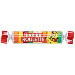 HARIBO Fruchtgummi ROULETTE Rolle, 25 g Rolle
