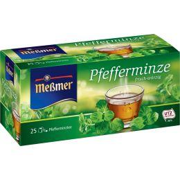 Meßmer Tee Pfefferminze, frisch-würzig, 25er Packung