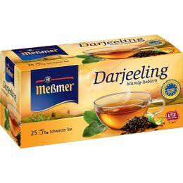 Meßmer Schwarzer Tee Darjeeling, 25er Packung