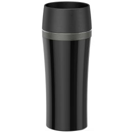 emsa Isolierbecher TRAVEL MUG FUN, 0,36 Liter, schwarz/