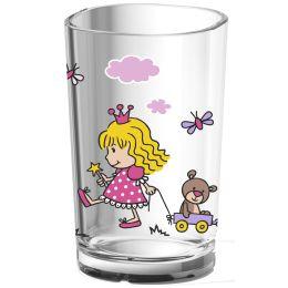 emsa Kinder-Trinkglas KIDS, 0,2 Liter, Motiv: Monster