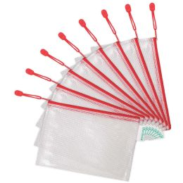 tarifold Reißverschlusstasche ZIPPER, DIN A5, PVC, rot