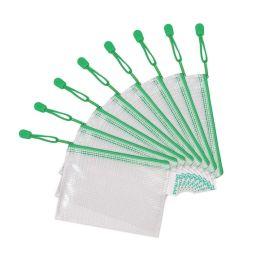 tarifold Reißverschlusstasche ZIPPER, DIN A6, PVC, grün