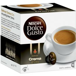 NESCAFE Dolce Gusto Kaffee Kapseln Crema dOro