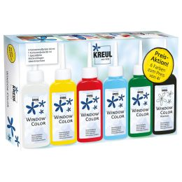 KREUL Window Color Hobby Line Glas Design, Aktions-Set