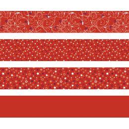 HEYDA Faltpapierstreifen für Fröbelsterne, rot