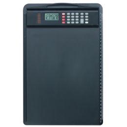 Alassio Klemmbrett, DIN A4, mit Taschenrechner, schwarz