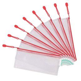 tarifold Reißverschlusstasche ZIPPER, DIN lang, PVC, rot