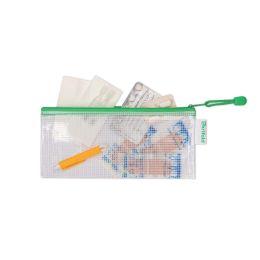 tarifold Reißverschlusstasche ZIPPER, DIN lang, PVC, grün
