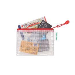 tarifold Reißverschlusstasche ZIPPER, DIN A6, PVC, rot