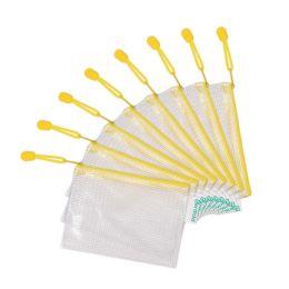 tarifold Reißverschlusstasche ZIPPER, DIN A6, PVC, gelb