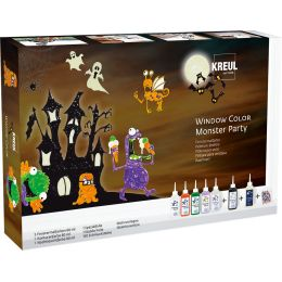 KREUL Window Color Monster Party, Set