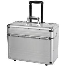 ALUMAXX Pilotenkoffer OMEGA, Aluminium, silber
