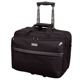 LiGHTPAK Business Notebook-Trolley XRAY, Nylon, schwarz