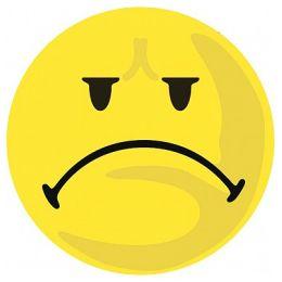 FRANKEN Wertungssymbole negativ, selbstklebend, gelb