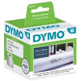 DYMO LabelWriter-Adress-Etiketten, 89 x 28 mm, weiß