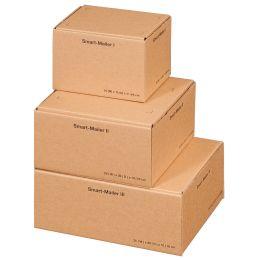 smartboxpro Paket-Versandkarton Smart Mailer, mittel,braun