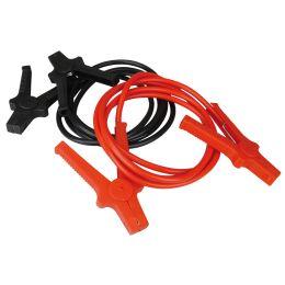 cartrend KFZ-Starthilfekabel Aluminium, 16 mm2, schwarz/rot