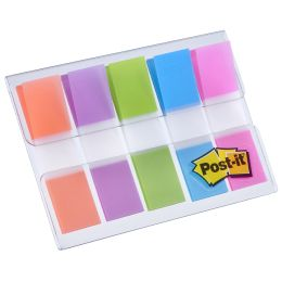 Post-it Haftstreifen Index mini, 11,9 x 43,2 mm, 5-farbig
