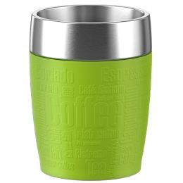 emsa Isolierbecher TRAVEL CUP, 0,20 L., Manschette limette