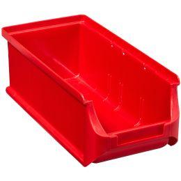 allit Sichtlagerkasten ProfiPlus Box 2L, aus PP, rot