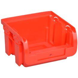 allit Sichtlagerkasten ProfiPlus Compact 1, aus PP, rot