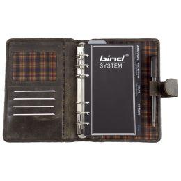 bind Terminplaner Modell 10101-1, A6, ohne Kalender, braun