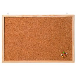 FRANKEN Korktafel Memoboard, 1.000 x 600 mm, braun