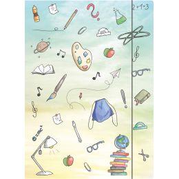 RNK Verlag Zeichnungsmappe Schooldoodle, DIN A4