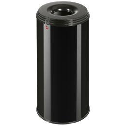 Hailo Papierkorb ProfiLine safe XL, 45 Liter, schwarz