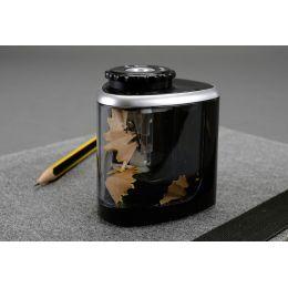 bind elektrischer Spitzer, Kunststoff, schwarz