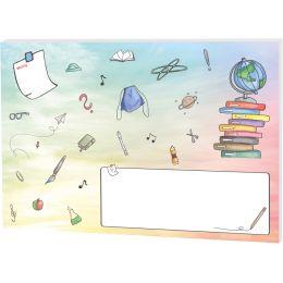 RNK Verlag Papier-Schreibunterlage Schooldoodle, klein