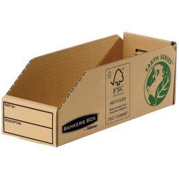 Fellowes BANKERS BOX EARTH Kleinteilebox, braun, (B)98 mm
