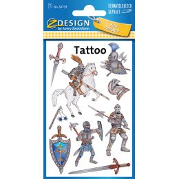 AVERY Zweckform ZDesign KIDS Tattoos Ritter