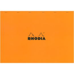 RHODIA Notizblock No. 38, DIN A3+, kariert, orange