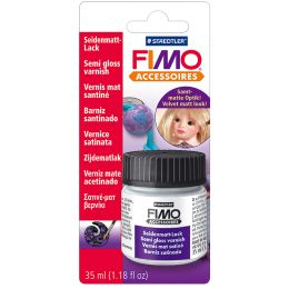 FIMO Seidenmatt-Lack, 35 ml im Gläschen