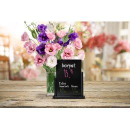 Securit Tischaufsteller ELEGANT, mittel, schwarz