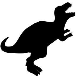Securit Kreidetafel SILHOUETTE Dino